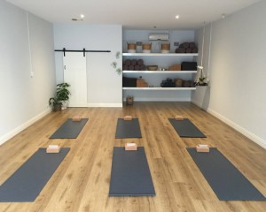 The studio at Nest Yoga Wembley